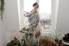 Collections | Milleneufcentquatrevingtquatre | Printed square of silk | France