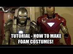How To Build Foam IRON MAN / WAR MACHINE Costumes and MANY More! - Part 1 (NEW INTRO)