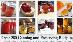Over 200 Canning and Preserving Recipes
