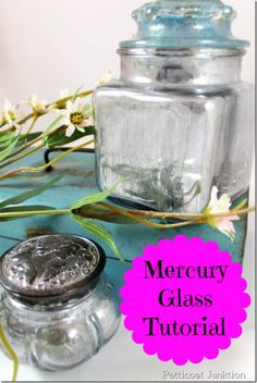 Mercury glass diy, Petticoat Junktion    http://petticoatjunktion.com/mercury-glass-2/salvage-saturday-mercury-glass-diy-take-2/