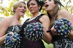 Button bouquets!