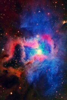 Iris #Nebula. #space#astronomy #hubble