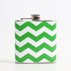 Chevron Flask Green now featured on Fab.
