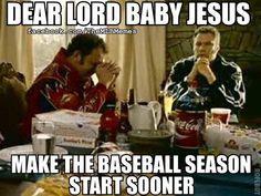 Yes!!! family dinners, prayer, basebal season, funni, sport, texan, babi jesus, baseball season, boston red sox