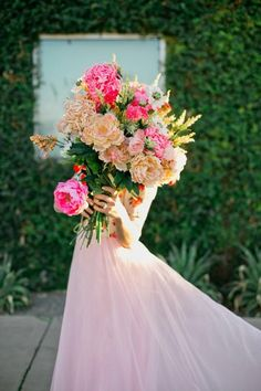 Big, bright florals. wowza