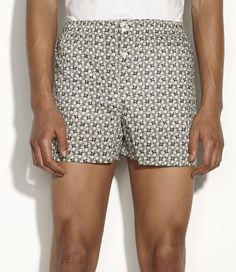A.P.C. liberty boxer shorts.