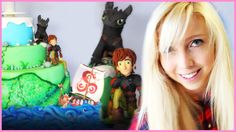 Watch BananaJamana decorate an amazing How To Train Your Dragon cake!