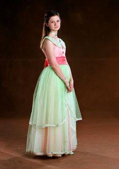 Ginny at the Yule Ball