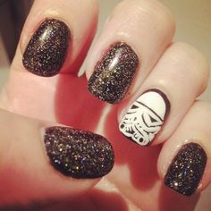 Star Wars Nails - WANT! - NJ