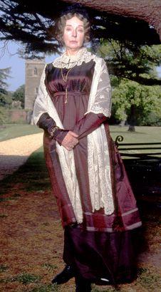Barbara Leigh-Hunt as Lady Catherine de Bourgh, Pride and Prejudice, 1995