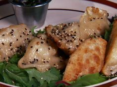 Potstickers Recipe : Diners Drive Ins and Dives