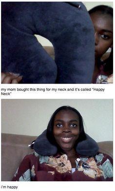 Happy neck
