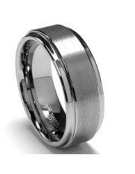 ... finish men 8mm high band size men jewelry tungsten rings wedding bands