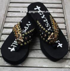 Gypsy Soule Catnip Flip Flops