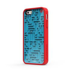 #iPhone 5 #Case in A-Maze-Ing blue-red. A #geeky #gadget.