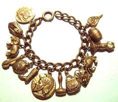 Bronze Victorian bracelet