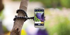 The GripTight GorillaPod Stand XL allows you to take photos from various angles, and it's great for when you're on the go or traveling.