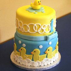 Cake baby shower cakes, baby shower ideas, first birthdays, 1st birthday cakes, 1st birthdays, baby cakes, babi shower, rubber ducks, baby showers