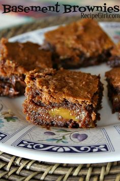 Basement Brownies... so good, you'll want to sneak down to the basement and eat them all yourself :)