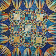 Indian Orange Peel,  created using a Karen Stone pattern