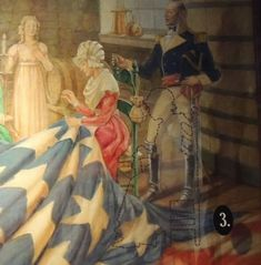 The likeness of Grace Wisher is unknown. However, the Star Spangled Banner Flag House is home to a portrait with her figure traced in, to re...