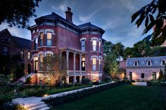 Historic Chicago Italianate mansion and Second Empire coach house. Restored by Vinci | Hamp Architects.