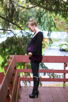 Work it: Workin' the darkness - Maternity Style