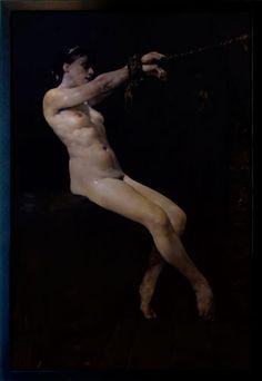 "Captive 6 Oil on canves. 50""x 72"" (127cm x 183cm) Costa Dvorezky"