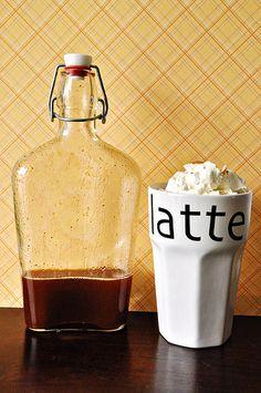 Homemade Pumpkin Latte syrup!