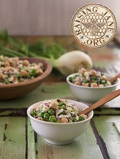 Crunchy Spring Chickpea Salad Prep Time: 25 Minutes, Plus 2 Hours Cooling Time Makes: 5 Cups