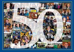 """Celebrate Pleasantville's 50th anniversary at """"50 Years, 50 Faces"""" on October 26! www.pace.edu/50Faces."""