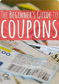 This beginner's guide to coupons will help get you started on the path toward reaching your personal and financial goals.