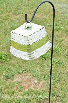 Solar Light Basket
