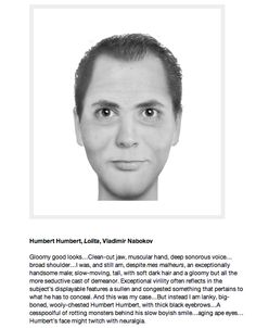 Artist Brian Joseph Davis has been creating composite sketches of literary characters from book descriptions, by using a composite sketch-rendering software used by law enforcement