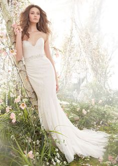 Bridal Gowns, Wedding Dresses by Jim Hjelm - Style jh8410