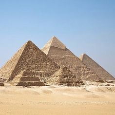 See the pyramids