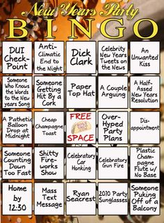 BINGO for adults, I