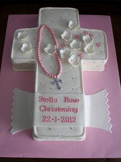 Sandy's Cakes: January 2012 religi cake, stuff, baptisms, christening cakes, christen cake, sandi cake