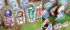 nativity themes and crafts @Katherine  Marie