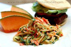 Zucchini Coleslaw (Primal, Paleo with mod)