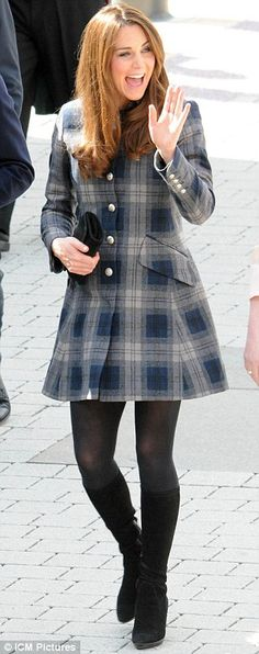Duchess of Cambridge in Scotland