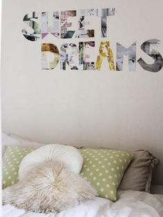 30 Cool Things to Make With Old Magazines | StyleCaster magazin, sweet dreams