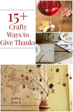 Crafty Ways to Give