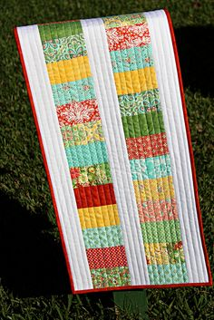 Flora Quilted Table Runner
