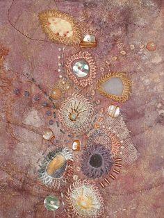 shisha mirrors, embroidery