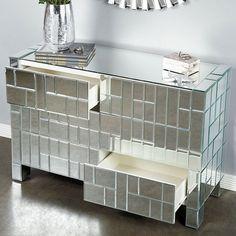 Gorgeous Mirrored Dresser