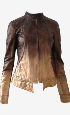 brown ombre jacket