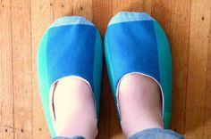 DIY House Slippers