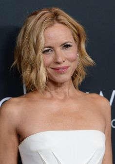 Maria Bello Short Hairstyle 2014 » Love this cut... cannot decide if I should continue growing it out or chop it??!!