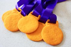gold medal, cookie dough, olympic gold, food coloring, kids sports, cookie cutters, medal cooki, kid parties, cookie recipes